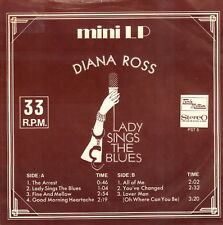 "DIANA ROSS – Lady Sings The Blues (RARE MOTOWN VINYL MINI LP 7"" HOLLAND)"