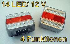 2xE4 LED Anhänger Rücklicht Rückleuchten Licht Leuchte Anhängerbeleuchtung m244