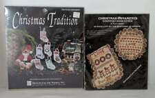 2 New Sealed Vintage Cross Stitch Christmas Ornament Kits