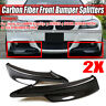REAL Carbon Fiber Front Bumper Splitter Lip For BMW E90 E91 335i 328i LCI M