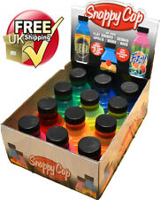24 X Can Cap Snappy Cap Snap Bottle Top Covers Drink Lid ALL DIFFERENT COLOURS