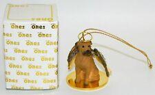 """Bullmastiff Dog Figurine Ornament Angel 2"""" Miniature Figure Tiny Ones 1996"""