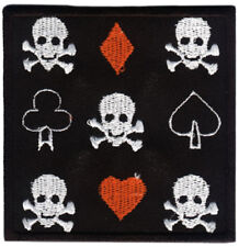 GAME OVER Coffin CREEPY Gothic Sarg Aufnäher//Patch 6x9cm Rockabilly