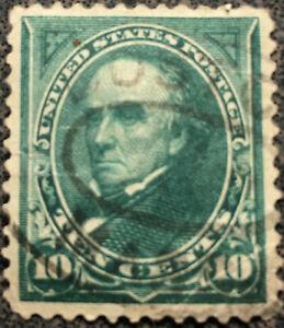 Scott #273 US 1895 10 Cent Daniel Webster Postage Stamp