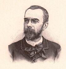 Portrait Alfred Bruneau Compositeur Musique Chef d'Orchestre Opéra Comique