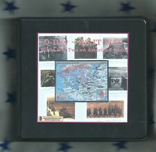 1944 D-DAY AS IT WAS 8 audio CD World War 2 Old Time Radio Shows WW2 WWII otr