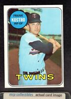 1969 Topps #242 Frank Kostro Minnesota Twins Vintage Baseball Card EX+