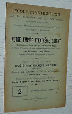 NOTRE EMPIRE EN EXTRÊME ORIENT 1922 / GOURDON / INDOCHINE COLONIES EDUCATION