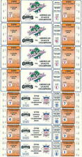(8) 1990 San Francisco Giants World Series/ALCS Tickets