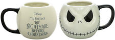 ONE The Nightmare Before Christmas Jack Face Ceramic Coffee Cup Mug BOXED DISNEY