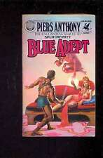 Piers ANTHONY - Blue Adept, Del Rey/Ballantine 1982 couverture Rowena Morrill