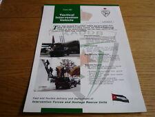 Jankel Aigis tactique d'intervention véhicule brochure JM