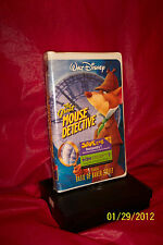 The Great Mouse Detective VHS Clamshell