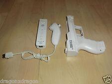 Nintendo Wii Controller Set, 1x Fernbedienung / 1x Nunchuk / 1x Lightgun