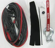 WARN 87915 Synthetic Rope Kit 3/8 x 100 Winch 10000 lb Hook Spydura Polyethylene
