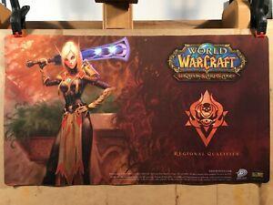 World of Warcraft Blood Elf Paladin Playmat - WoW TCG