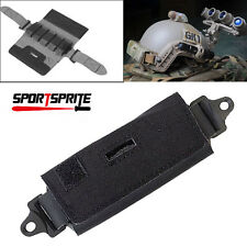 Tactical Helmet Accessory Pouch Fast Rear Counterweight Bag Black TB-FMA