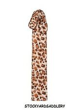 Leopard Print Lycra Tail Bag Tough 1 New Horse Tack Grooming Equine