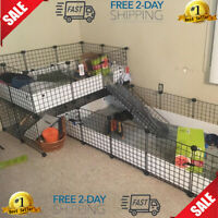 Best Pet Big,Guinea Pig Giant Rabbit Cage Kit Small Animal Rodent Gate Barrier