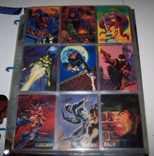 1995 Fleer Ultra Spider-Man  Card Set with all Chase and Inserts