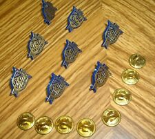 Vintage Old Style Beer Pins (Qty. Of 8)