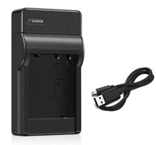 Battery Charger for Panasonic Lumix DMC-FH4, DMC-FH5, DMC-FH6, DMC-FH7, DMC-FH8