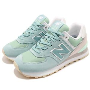 New Balance WL574TAB B Green Grey White Women Running Shoes Sneakers WL574TABB