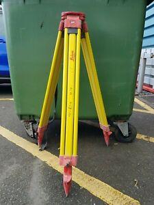 Leica wooden tripod - Surveying Tripod - Total Station