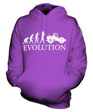 STEAM ROLLER EVOLUTION OF MAN UNISEX HOODIE TOP GIFT RETRO STEAM PUNK