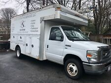 E350 used Contractors Box Truck, 2010, very low miles!
