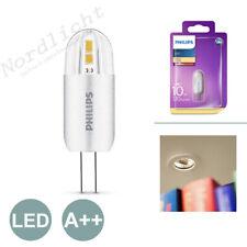 3 x Philips LED 1.2w - 10w G4 Capsule Light Bulb a 120lm 12v Warm White 2700k