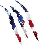 Ford Raptor Scratch Logo Vinyl Decal American Flag Custom Engravedlaserdesigns