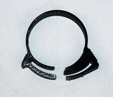 """(10 x) Micro Plastic Nylon Premium Hose Clamp, Black  1.5"""""""