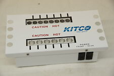 Kitco QT-14 dual purpose Epoxy/hot melt 14 port oven 0700-9150 fiber optics