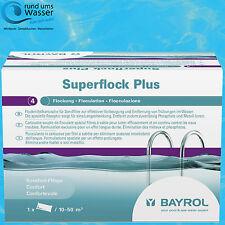 Bayrol Superflock Plus 1kg Flock Mittel Kartusche Flockung Sandfilter Pool