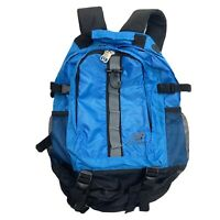 New Balance Blue Backpack Hiking School Travel Hydration Compatible Lightweight