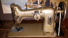 Vintage Pfaff Model 130 Sewing Machine with Cabinet and Treadle
