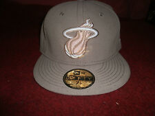NFL  FITTED MIAMI HEAT  HAT CAP  59FIFTY SIZE 7 1/4  NBA HWC