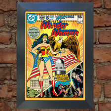 WONDER WOMAN Comic Cover 272nd Edition Cover Repro Vintage Wall Art Print #31