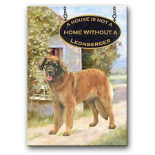 Leonberger a House Is Not A Home Fridge Magnet Dog