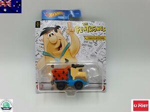 "New Hot Wheels Cartoon character Cars ""FRED FLINTSTONE"" 5/5 Free Postage"