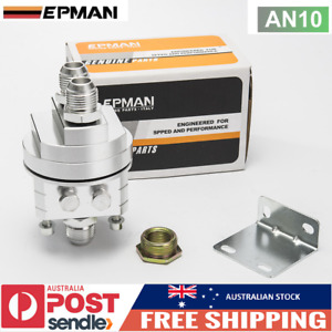 EPMAN Oil Filter Relocation Adapter Kit for Nissan Honda Toyota Ford AN10 Silver