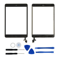 Für Apple iPad Mini 1 2 Digitizer Display Glas Touchscreen+Klebepads+IC Chip