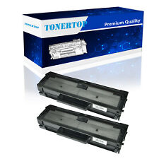 2 PK Replacement MLT-D101S Black Toner Cartridge  For Samsung SCX-3405W Printer