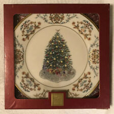 Lenox China 2001 Ireland 11th Annual Christmas Trees Arnd the World Plate New