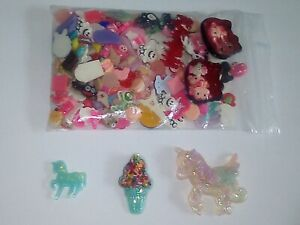 Rainbow Hello Kitty Unicorn ❤️ Planar Resin Flatbacks Cabochon Embellishment lot
