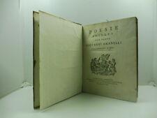 GRANELLI Giovanni, Poesie scelte, gesuitica