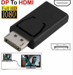 2020 NEW Display Port DP Male To HDMI Female Adapter Converter For HDTV PC