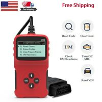 OBD2 Scanner Code Reader Diagnostic Scan Tool for OBDII CAN Fault Car Universal