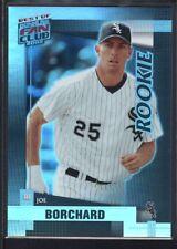 JOE BORCHARD 2002 DONRUSS BEST OF FAN CLUB #213 RC WHITE SOX SP #0148/1350